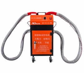 Double-headed wire cutter orange